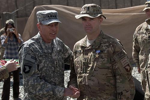 U.S. Army Capt. Edward B. Bankston, Silver Star, Afghanistan