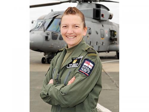 Royal Navy Air Arm welcomes first female Senior Observer