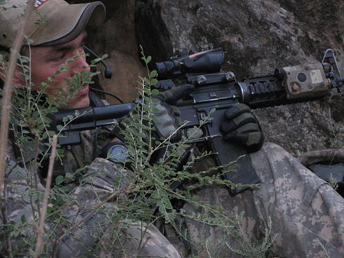 Before former Staff Sgt. Clinton L. Romesha and his fellow Bravo Troop, 3rd Squadron, 61st Cavalry Regiment soldiers arrived at Combat Outpost Keating, nestled in the Hindu Kush mountains along the Afghanistan-Pakistan border, they were warned that it was dangerous, and to expect a lot of enemy engagement. They frequently received reports that insurgents planned to overrun the outpost, and on Oct. 3, 2009, those reports became reality. (Photo courtesy of Clinton L. Romesha)