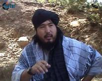Abbas Mansoor, an Islamic Movement of Uzbekistan military commander. Image from the SITE Intelligence Group.
